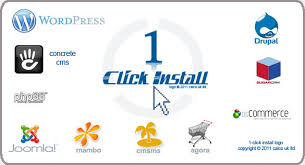 1 click install hosting package - 60 apps and counting