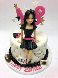 Happy 18th Birthday Ana Eddas Cake Designs Facebook