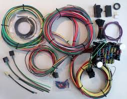 21 circuit ez wiring harness chevy mopar ford hotrods universal x universal wiring harness motorcycle at Universal Ford Wiring Harness
