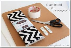 How To Make Fabric Memo Board Extraordinary One Yard Decor Inset Kitchen Cabinet Memo Board And More In My