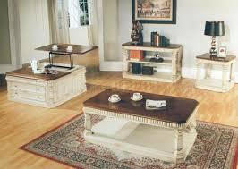 antique vintage cream coffee table w