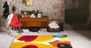 a pop of colour with a muse opal print rug from ceadogán