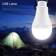 Mini Portable 5v 3w Usb Led Bulb Tent Light White For Outdoor