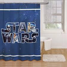 star wars classic shower curtain