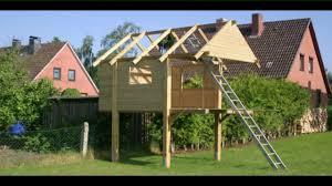 Stelzenhaus selber bauen Spielturm Build a StiltHouse Kanal für ...