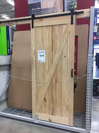 sliding barn doors at lowe s and