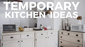 The Best Temporary Kitchen For Survival During A Remodel Youtube