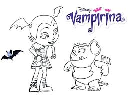 Vampirina Coloring Pages Printable Betterfor