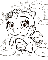 Little charmers coloring pages photo 15
