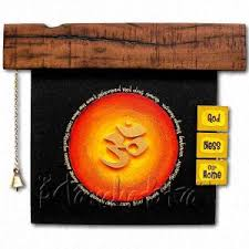 rustic om art ideal gift for housewarming ceremony