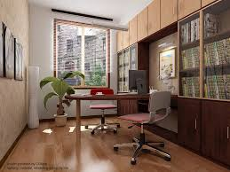 small office space design ideas. 12 chic home office designs for small space modern design with curved wooden computer table and movable red two chairs a ideas o