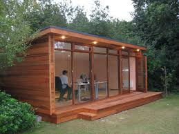 outdoor shed office. Outdoor , Artistic And Lovely Wood Shed Office Design : Wooden Garden Sheds For Ideas