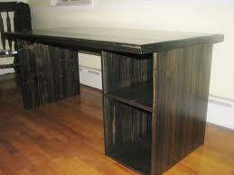 desks for office at home. Custom Made Modern Ebony Computer Desk Desks For Office At Home