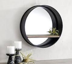 Wall mirrors Oval Brooklyn Mirror Pottery Barn Wall Mirrors Decorative Mirrors Pottery Barn