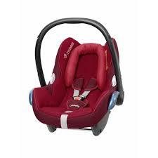 maxi cosi cabriofix car seat raspberry red
