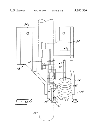 patent us5992366 ignition switch cutout module google patents patent drawing