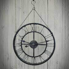 chain decorative clock for hanging made