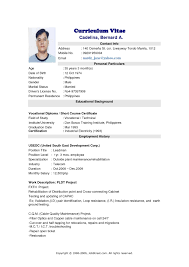 Resume Template Jobstreet Malaysia Inspirational Singapore Of