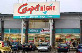 carpetright. turnaround: carpetright posted a profit after posting £7.2million loss last year m