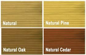 Ronseal Varnish Colour Chart Ronseal Decking Oil 5 Litre