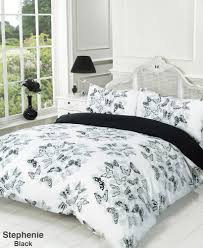 full image for beautiful erfly duvet cover double 109 catherine lansfield erfly fusion double duvet cover