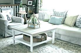 farm coffee table farmhouse style round