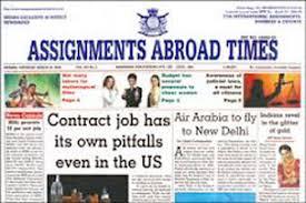 Assignment abroad epaper mumbai