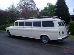 1957 (Chevy) Chevrolet Suburban Limo Limousine streched from new ...