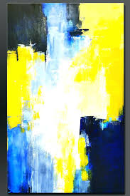 >blue and yellow wall art swimming elephant blue green and yellow  blue and yellow wall art blue and yellow wall art contemporary unique navy blue and yellow