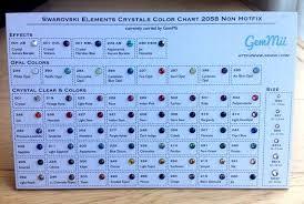 Swarovski Ab Color Chart Swarovski Crystals Flatback Non Hotfix Color Chart Promotion On Now