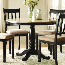 Marble Top Dining Table Round Homelegance Dearborn Round Faux Marble Top Dining Table In Black
