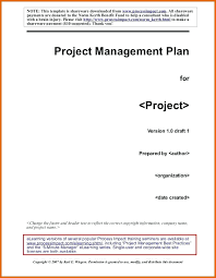 Project Proposal Management Plan Template Experience Practical ...
