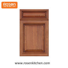 wooden pine recessed molding kitchen cabinet doors and drawer fronts