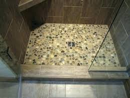 river rock flooring tile shower floor river rock contemporary river rock flooring river rock look vinyl