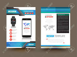 Product Brochure Template Vector Brochure Template Design For Technology Product Business 1