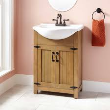 Havilla Vanity Weathered Gray Oak Bathroom - Oak bathroom vanity cabinets