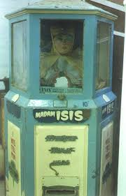 Isis Vending Machines Best Madam Isis Fortune Teller Maker Unknown Year Unknown Madam Isis