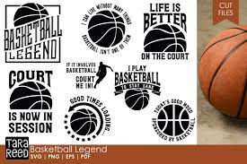 Basketball Svg Designs Basketball Legend Basketball Svg And Cut Files For Crafter
