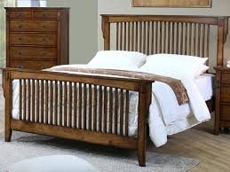Mission Bed Frame Rustic Mission Bed Craftsman Style Bed Frame Plans ...