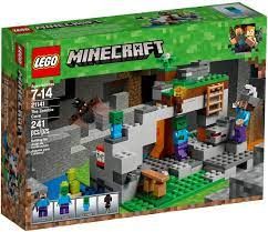 Đồ Chơi LEGO Minecraft 21141 - Hang Động Zombie (LEGO Minecraft 21141 The  Zombie Cave)