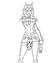 Star Wars Coloring Pages Star Wars Coloring Pages Ahsoka Star