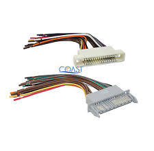 pontiac wiring harness car stereo wiring harness combo for 2000 2005 buick lesabre pontiac bonneville fits