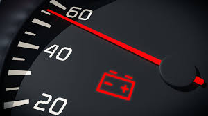 car battery light on while driving