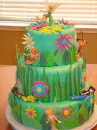 Disney Fairies Lover Must Have For A Birthday Cake Tinkerbell