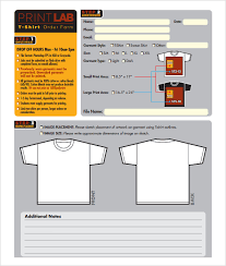 free forms to print t shirt order form template 24 free word pdf format download