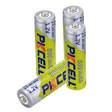 24 Pcs Tenergy AA NiCd Rechargeable Battery Solar Lights Lawn Lamp Solar Light Batteries Aa