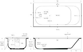 dimensions of a bathtub standard bathtub dimensions bathtub sizes standard bathtub size photo 1 of 8