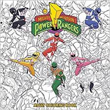 Small Picture Mighty Morphin Power Rangers Adult Coloring Book Hendry Pratsetya