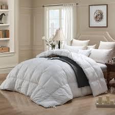 details about wenersi premium down comforter king size duvet insert 600tc 100 cotton cover