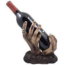 Decorative Wine Bottle Holders Amazon Zombie Rising up From the Grave Wine Bottle Holder 13